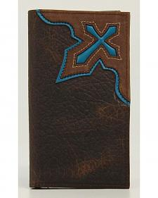 Nocona Cross Inlay Rodeo Wallet