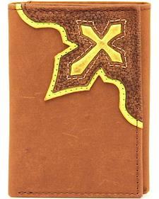 Nocona Trifold Bold Cross Wallet