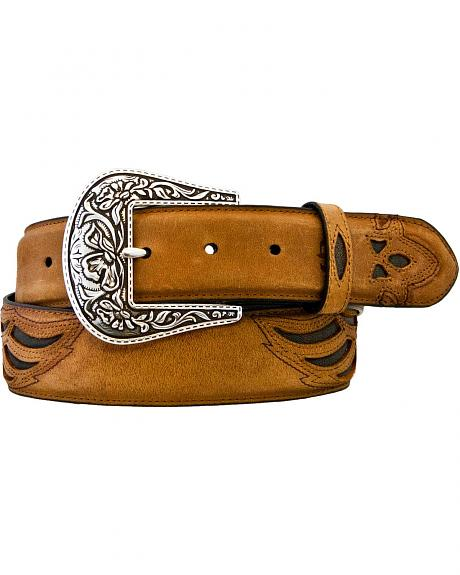 Stetson Wing Inlay Belt