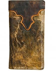 Stetson Canyon Leather Saddle Rodeo Wallet