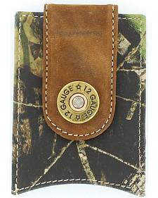 Nocona Shotgun Shell Mossy Oak Money Clip