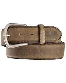 Justin Men's Bay Apache Leather Dress Belt