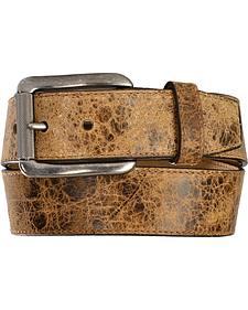 Justin Men's Tailgunner Leather Belt