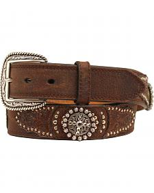 Ariat Embossed Round Concho Belt