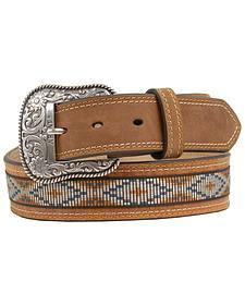 Ariat Ribbon Inlay Diamond Concho Belt
