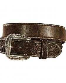 Ariat Embossed Tab Distressed Belt