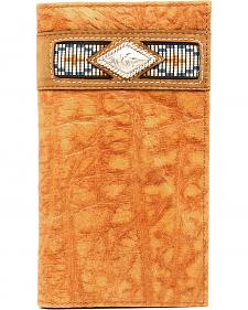 Ariat Gator Ribbon Rodeo Wallet