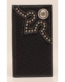 Nocona Embossed Concho Rodeo Wallet