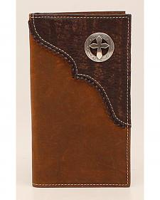 Nocona Cross Concho Rodeo Wallet