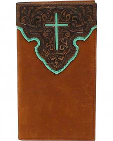 Nocona Contrast Cross Rodeo Wallet