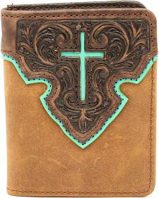 Nocona Bifold Cross Tab Wallet