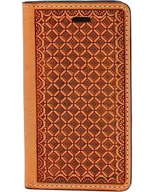 Nocona Leather Basketweave iPhone 5 and 5S Case Wallet