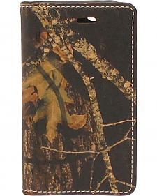 Nocona Mossy Oak Camo Leather iPhone 5 and 5S Case Wallet