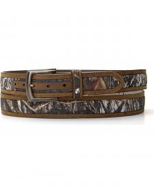 Nocona Double Stitched Mossy Oak Belt - Large