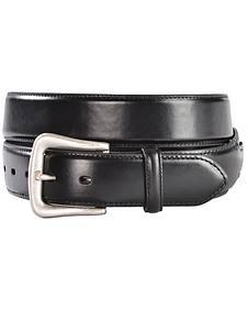 Nocona Black Western Overlay Belt - Large