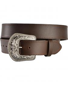 Gibson Trading Co. Men's Western Stitch Leather Belt