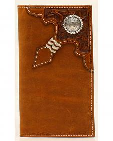 Ariat Rawhide Knot Concho Rodeo Wallet