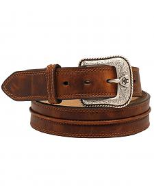 "Ariat 1 1/2"" Center Bump Belt"