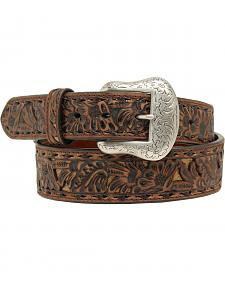 "Nocona 1 7/8""- 1 1/2"" Emobossed Overlay Belt"