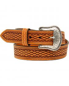 Nocona Men's Basketweave Belt