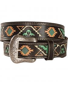 "Nocona 1 7/8"" 1 1/2"" Tribal Belt"