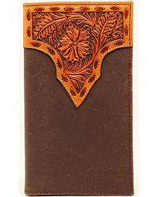 Nocona Stitched Floral Rodeo Wallet