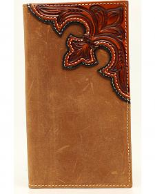 Nocona Scroll Overlay Rodeo Wallet
