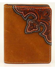 Nocona Scroll Flip Case Bi-fold Wallet
