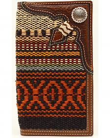 Nocona Fabric Rawhide Knot Concho Rodeo