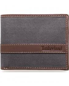 Timberland Men's Canvas Hunter Passcase Wallet