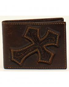 Nocona Diagonal Cross Bi-Fold Wallet