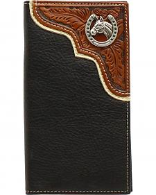 Nocona Horseshoe Concho Rodeo Wallet