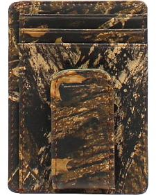 Nocona Camo Money Clip Wallet