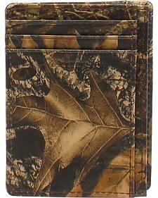 Nocona Camo Card Case Wallet