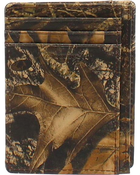 Nocona Camo Card Case Wallet