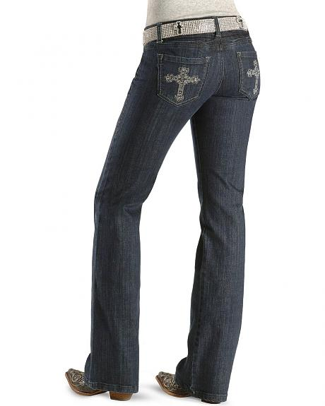 Cowgirl Tuff Jeans - Courageous Slim Fit Jeans - 33