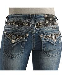 Women's Embellished Jeans