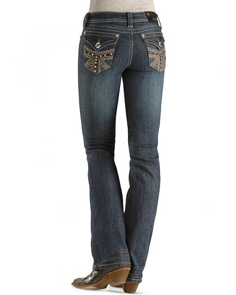 Grace In LA Embellished Pocket Jean - 33