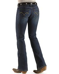 Levi's 524 Jeans - Superlow - Juniors' at Sheplers