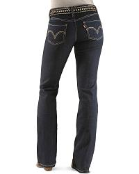Levi's� 518 Simply Blue Junior's Jeans at Sheplers