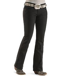 Levi's Juniors' 518 Black Pressed Jeans at Sheplers