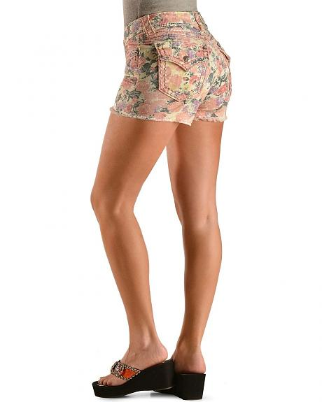 Miss Me Floral Shorts