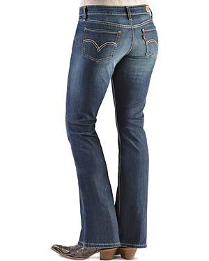 Levis 518 Superlow Bootcut Jeans