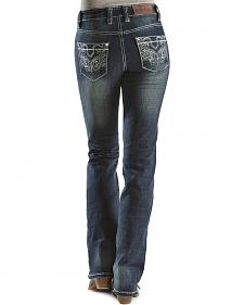 "Cowgirl Up Embroidered Pocket Jeans  34"" inseam"