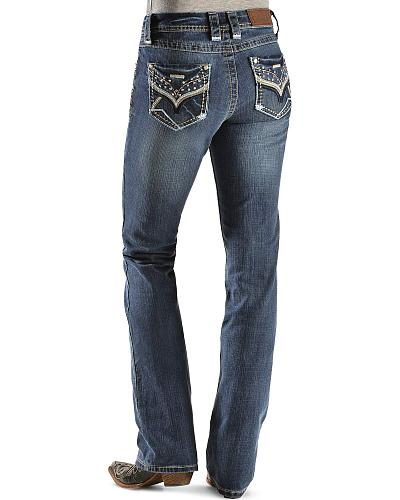 Cowgirl Up Colorful Rhinestone Embellished Jeans Western & Country CGJ40103