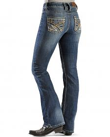 Cowgirl Up Heavy Stitched Back Pocket Jeans