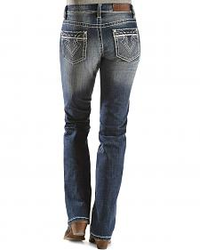 Cowgirl Up Arrow Stitched Jeans