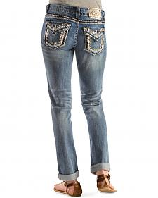 Miss Me Embellished Boyfriend Ankle Jeans