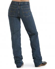 Cruel Girl � Relaxed Fit Dark Stonewashed Jeans