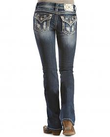 Miss Me Paisley Patch Bootcut Jeans